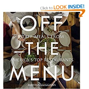 Off the Menu - Marissa Guggiana