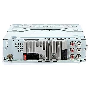 Pioneer DEH-X6900BT Single DIN Bluetooth In-Dash CD/AM/FM Car Stereo with (2 PAIRS) JVC CS-J620 300W 6-1/2 CS Series 2-Way Coaxial Car Speakers