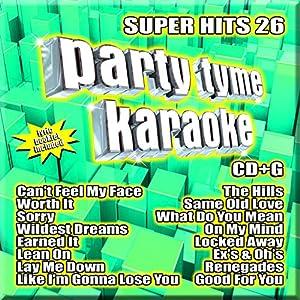 Party Tyme Karaoke - Super Hits 26 [16-song CD+G]