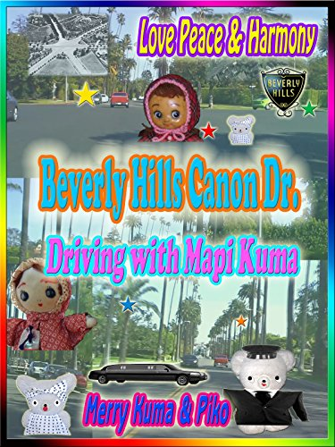 Clip: Beverly Hills Cañon Dr. Driving with Mapi Kuma