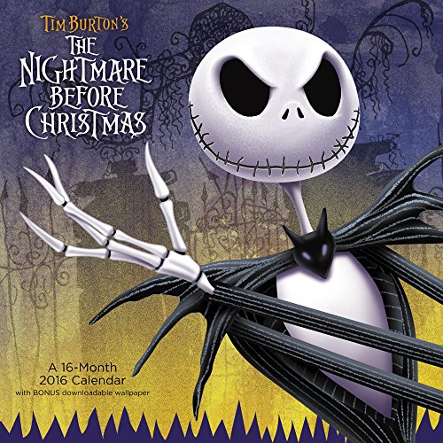 The Nightmare Before Christmas Wall Calendar (2016) PDF