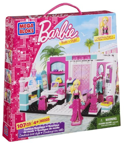 Mega Bloks 80225 - Barbie - Build 'n Style Fashion Boutique