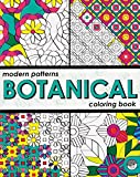Modern Patterns Botanical Colouring Book