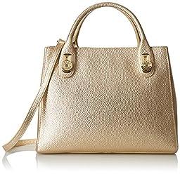 Tommy Hilfiger Elaine Convertible Shopper, Metallic/Gold
