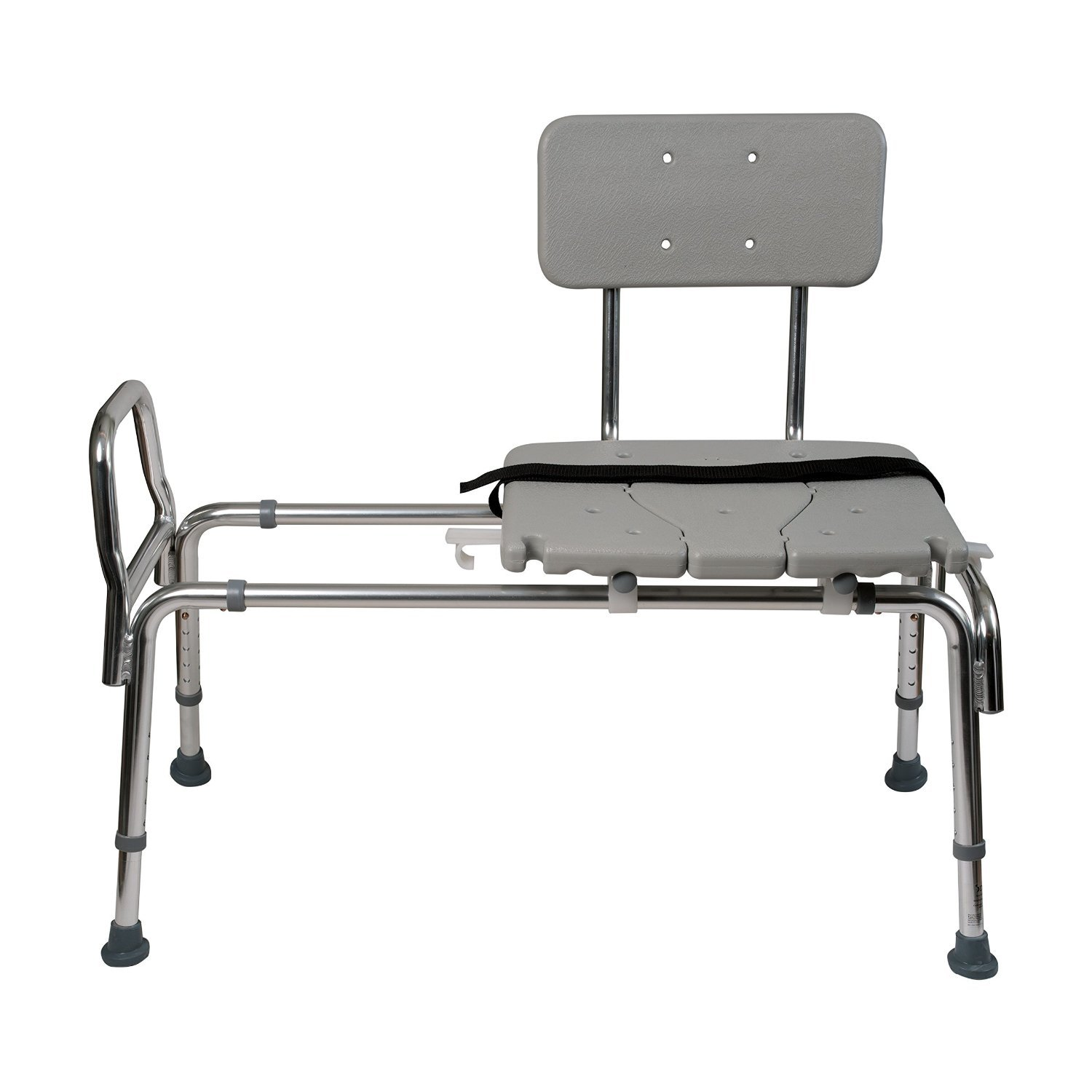Shower bench transfer seat bath tub chair safety bench handicap safe cut out Transfer bath bench