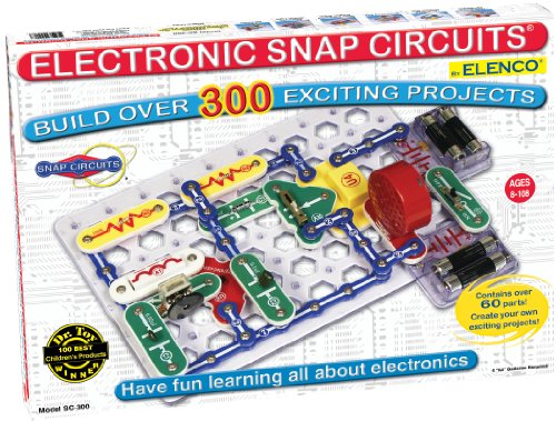 Snap Circuits SC-300 Electronics Discovery Kit (Cool Circuits Jr compare prices)