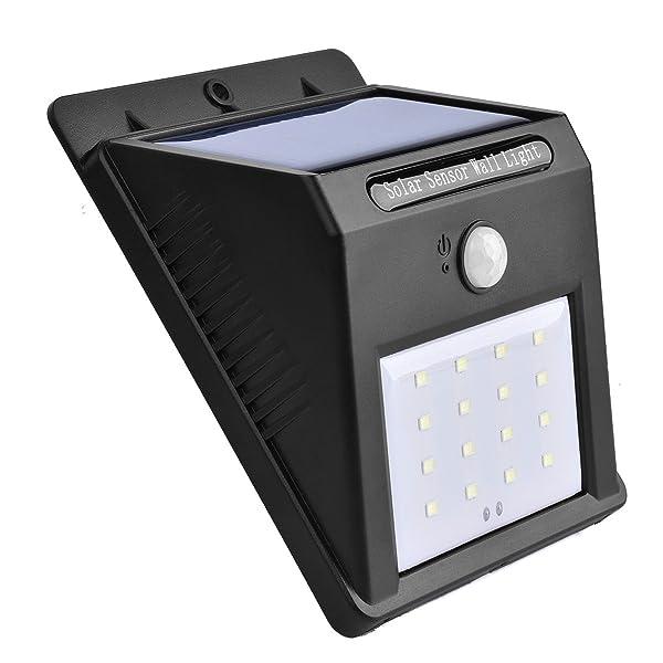 Solar Light, 16 LED Outdoor Solar Powerd,Wireless Waterproof Security Motion Sensor Light (1)