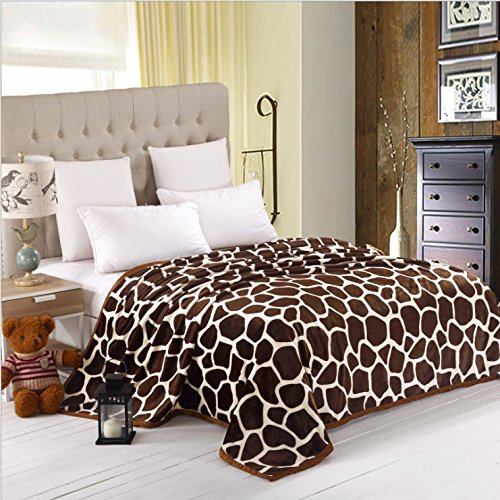 Mg Home Textile 2014 Four Season Collection Anti-Static Thicken Flannel Blankets A Nap Blanket Gypsophila Davurica Twin Size back-78560