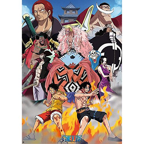 One Piece Di Poster Marine Ford (98X68)
