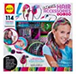 ALEX Toys - Spa Fun, Tattoo's & More, Ultimate Hair Accessories Salon Activity Kit with (8) Accessories, A722X