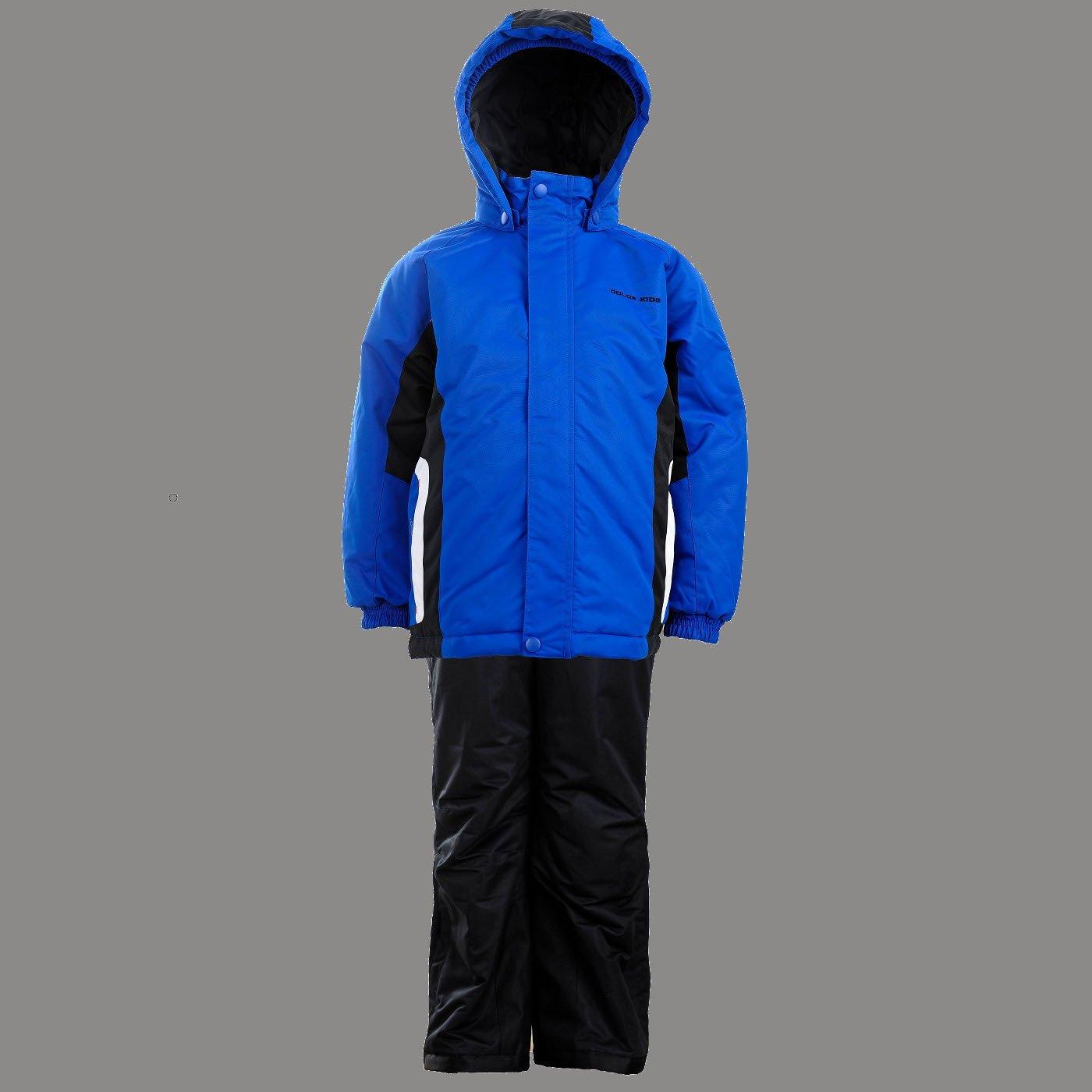 Color Kids.Ski-Anzug, Jenin Ski Set Air-flo 2000, blue danube. 101289-0197