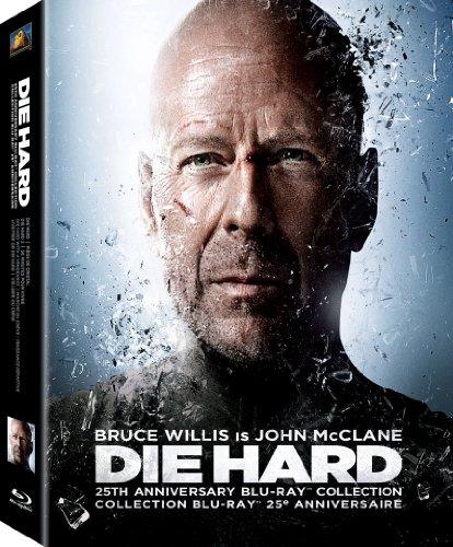 Die Hard 25th Anniversary Collection (Die Hard / Die Hard 2: Die Harder / Die Hard with a Vengeance / Live Free or Die Hard + Bonus Disc) [Blu-ray] (Bilingual)