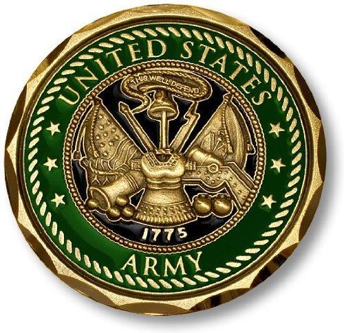U.S. Army Adhesive Medallion - 1