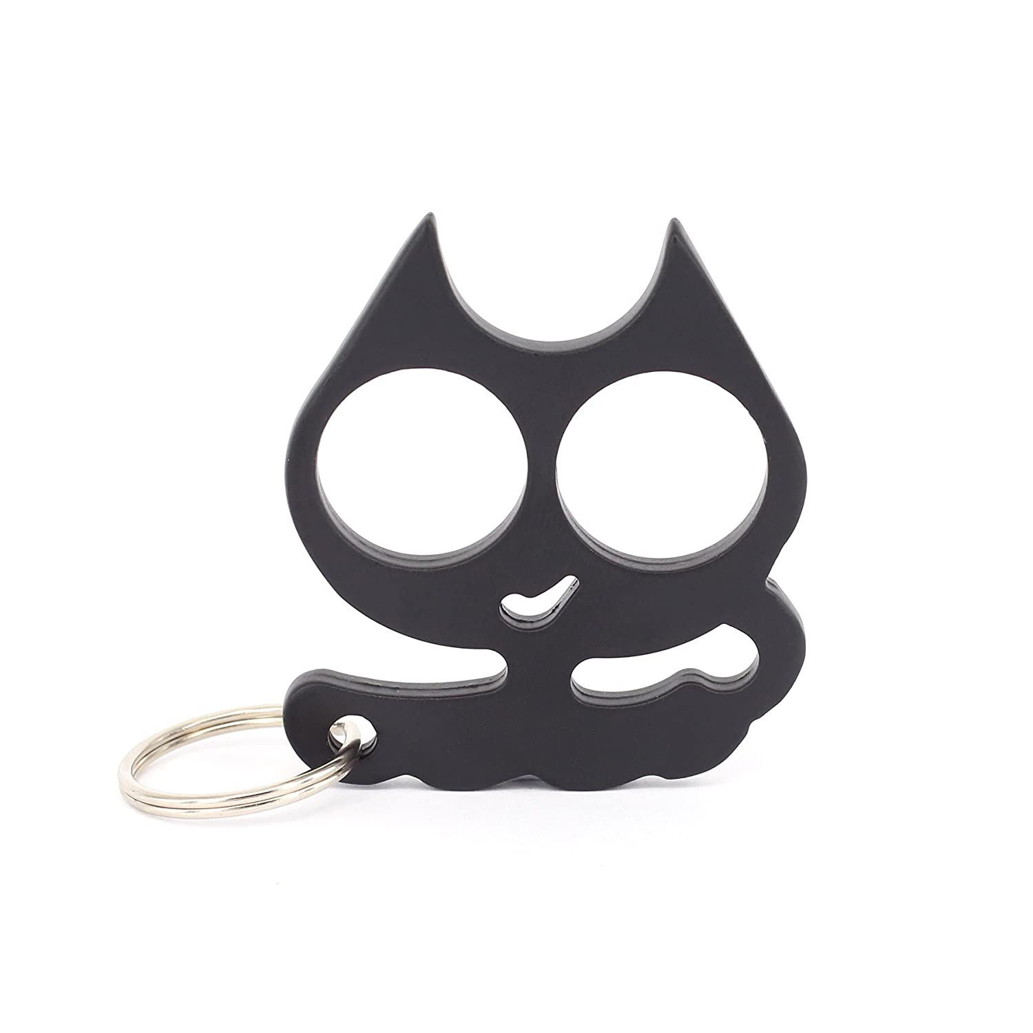 Prudance® Cartoon Cat Keychain Self Defense Emergency Survival Tool - Decorative Key Chain Doubles As a Weapon If You