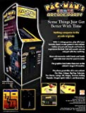 Namco Pacman Arcade Party Cabaret Arcade Game Machine