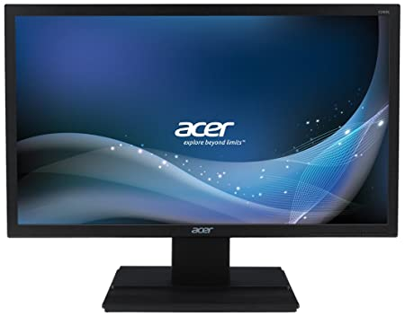 "Acer V246 Ecran PC LED 24"" (60,96 cm) 1920 x 1080 5 ms VGA/DVI Noir"
