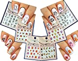 OWL Nail Art Water Slide Tattoo Stickers Decals ♥ Owl Howl ♥ 6 - Pack