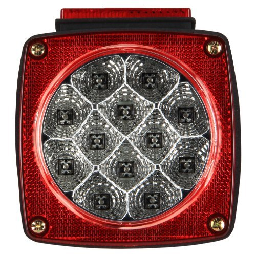 Pilot Automotive Nv-5081 Red Led Submersible Trailer Light Outdoor/Garden/Yard Maintenance (Patio & Lawn Upkeep)