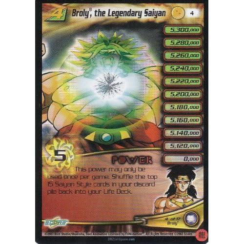 Ultra Rare Personality Card- Broly, the Legendary Saiyan Level 4 #4