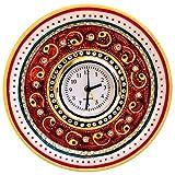 KUNDAN AND MEENA WORK ALARM CLOCK IN MARBLE