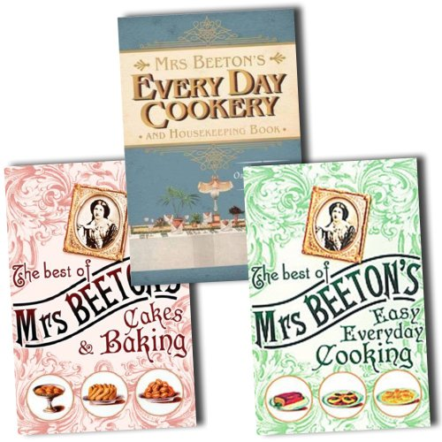 The Best of Mrs Beetons Collection 2 Books Set Pack (The Best Of Mrs Beetons Cakes and Baking and Mrs Beetons Household Book) (The Best Of Mrs Beetons Cakes and Baking, Mrs Beetons Every Day Cookery and Housekeeping Book, Mrs Beetons Household Book)