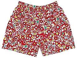 Oye Girls Sailor Pocket Shorts - White/Pink (3-4 Y)