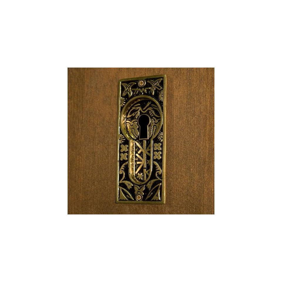 Flush Sash Lift Recessed Pull Pocket Door Dull Satin Nickel Brass Old Vintage Architectural & Garden
