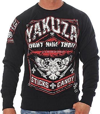 Yakuza Herren Pullover Sweatshirt PB625 Sticks & Candy