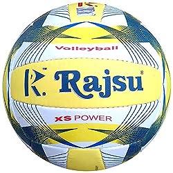 RAJSU XS Power Polyether Thane Volleyball (Multi-Color)