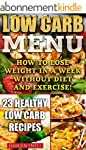 Low Carb Menu: How To Lose Weight In...