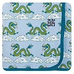 KicKee Pants Swaddling Blanket Cloud Dragon
