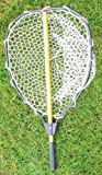 Collapsable Aluminum landing net with rubber net (Hoop:20