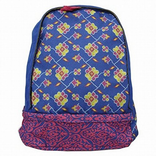 xhilaration-blue-damask-backpack-with-laptop-sleeve-sport-school-travel-pack-by-xhilaration