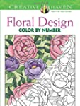 Floral Design Color by Number Colorin...
