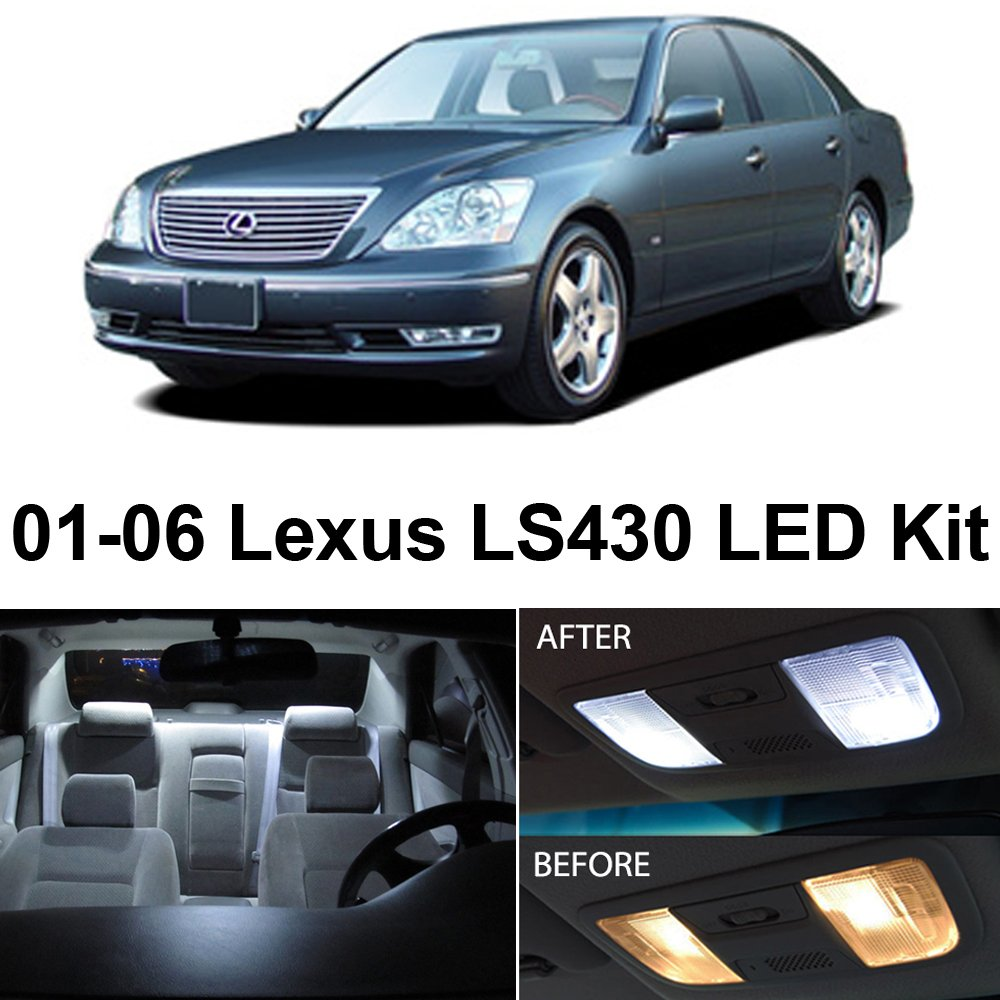 2006 Lexus Lx Interior: Lexus LS430 2001-2006 Xenon White LED Interior Lights