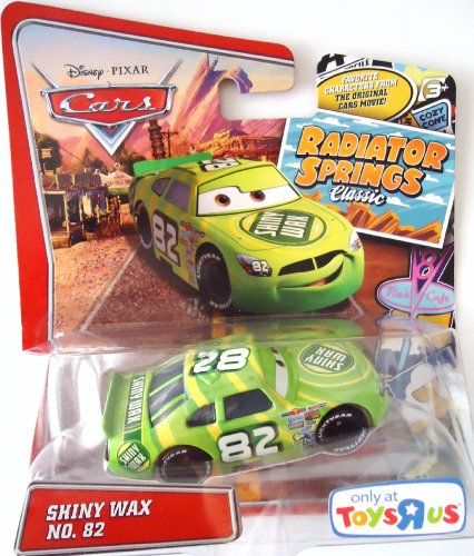 Pixar Cars Radiator Springs Classic Exclusive Shiny Wax 1:55 Scale Mattel