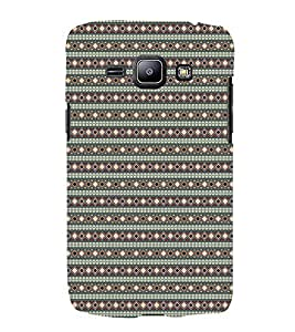 iFasho Animated Pattern colrful tribal design rajasthani style Back Case Cover for Samsung Galaxy J1 (2016 Edition)