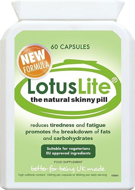 NEW FORMULA LotusLite® - The Natural Skinny Pill - Abnehmpillen * Beschleunigen Sie Ihren Grundumsatz und zugeln Sie Ihren Appetit * Hilft Ihnen, weniger zu essen und FETT SCHNELL ZU VERBRENNEN * Sehen Sie schlanker und weniger aufgedunsen aus* 100% n