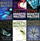 MINETTE WALTERS MINETTE WALTERS 6 BOOK SET COLLECTION THE SHAPE OF SNAKES DISORDERED MINDS THE ECHO THE DEVIL'S FEATHER ACID ROW THE ICE HOUSE BRAND NEW