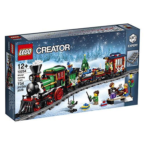 Lego Winter Holiday Train 10254 (Lego Motorized Train compare prices)