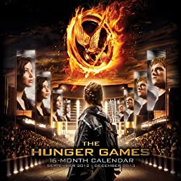 Hunger Games 2013 Wall Calendar