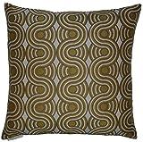 Van Ness Studio Groove Decorative Throw Pillow, Yellow