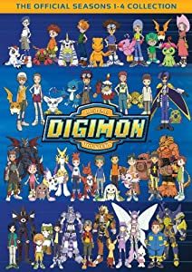 Digimon: The Official Seasons 1-4 Collection from NEW VIDEO GROUP