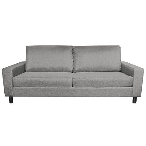 Canapé de salon Easy style moderne gris clair