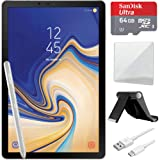 Samsung Galaxy Tab S4 10.5 inch WiFi Tablet Grey 64GB (SM-T830NZAAXAR) with Tablet Stand, 10