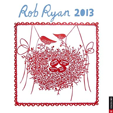 Rob Ryan Wall Calendar 2013
