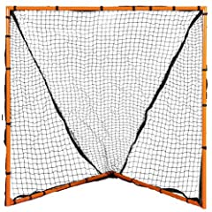 Champion Sports Backyard Lacrosse Goal (Orange, 6 x 6-Feet) by Champion Sports