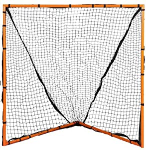 Buy Champion Sports Backyard Lacrosse Goal (Orange, 6 x 6-Feet) by Champion Sports