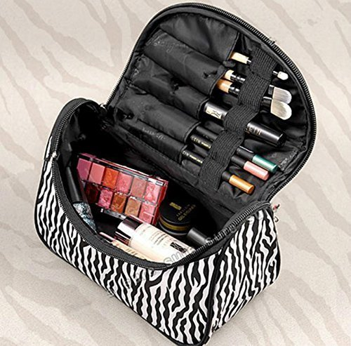 Fashion-Zebra-Pattern-Lady-Makeup-Bag-Women-Portable-Cosmetic-Toiletry-Bags-Travel-Storage-Organizer
