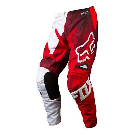 Fox 2015 Motocross Pantalon - Kids 180 Vandal Rouge